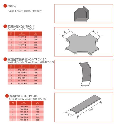 桥架盖板及附件